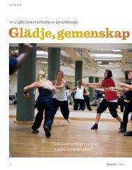 Dansprojekt Fysioterapi nr2 2009[1] - Örebro läns landsting