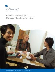 Guide to Taxation of Employee Disability Benefits - State of Oregon
