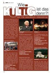 ICH steh drauf - Regensburger Stadtzeitung
