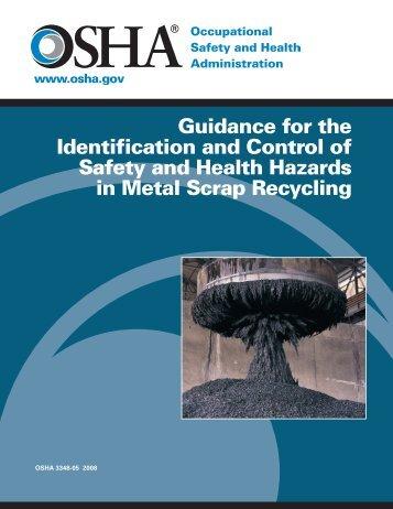 OSHA 3348 METAL SCRAP RECYCLING