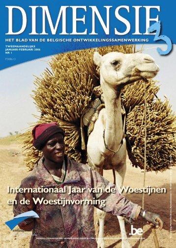 Dimensie 3: dossier Woestijnvorming - Buitenlandse Zaken