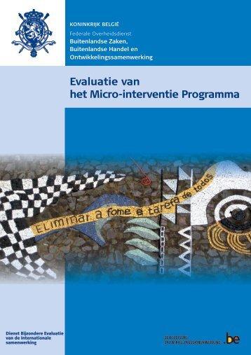Eindverslag (PDF, 9.83 MB) - Buitenlandse Zaken - Belgium