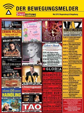 Mai 2012 Regensburg & Umgebung - Regensburger Stadtzeitung