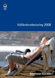 Välfärdsredovisning 2008 - Östersunds kommun
