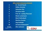 WB 9 SG Gieboldehausen – Gleichen – SG Radolfshausen
