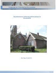 Bouwhistorische Verkenning Anthoniushoeve (pdf) - Gemeente ...
