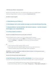 1. Ondersteuning voor Windows 7. 2. Het pictogram voor ... - Philips