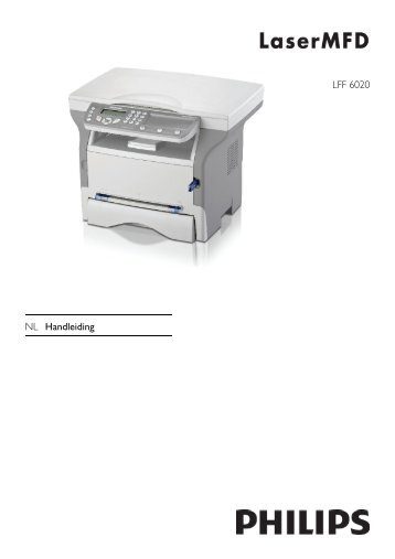 LFF 6020 NL Handleiding - Philips