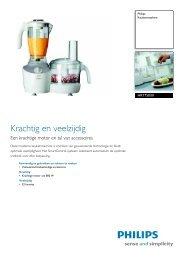 HR7750/01 Philips Keukenmachine