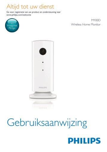 Gebruiksaanwijzing - Philips