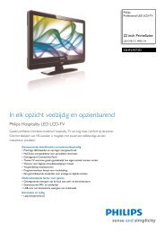 22HFL4372D/10 Philips Professional LED LCD-TV