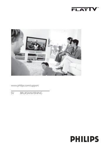 www.philips.com/support SV BRUKSANVISNING
