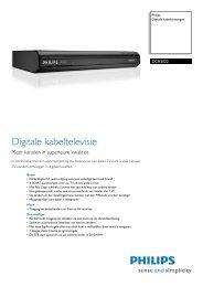 DCR2022/03 Philips Digitale kabelontvanger