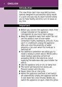 Satin style aqua 600 - Philips - Page 4
