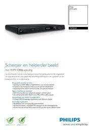 DVP3560/12 Philips DVD-speler