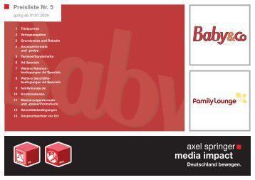 Preisliste Nr. 5 - Familie.de