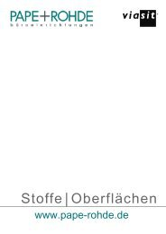 aktuelle Viasit Stoffkarte - Pape+Rohde