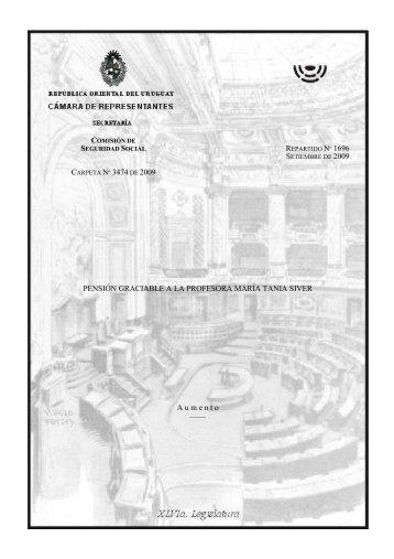 Rep. 1696 - Poder Legislativo