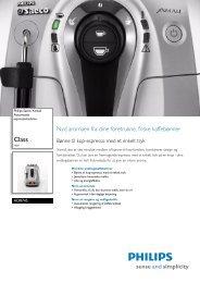 HD8745/01 Philips Automatisk espressomaskine