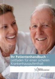 Ihr Patientenhandbuch – Leitfaden für einen sicheren ...