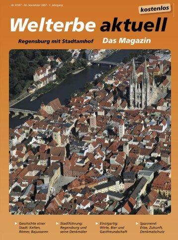 Welterbe aktuell - Regensburger Stadtzeitung