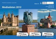 Mediadaten 2012 - Schweriner Volkszeitung