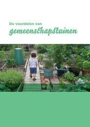 Voordelen van Gemeenschapstuinen - Permacultuur Nederland