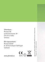 Bruksanvisning TVLink - Phonak
