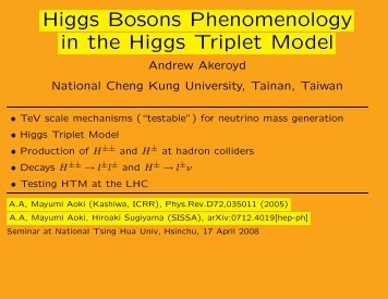 Higgs Bosons Phenomenology in the Higgs Triplet Model
