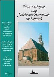 Wetenswaardigheden NH Kerk - PKN Lekkerkerk