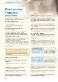Möglichkeiten der Testamentsgestaltung - Plan Stiftungszentrum - Page 4