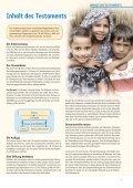 Möglichkeiten der Testamentsgestaltung - Plan Stiftungszentrum - Page 7