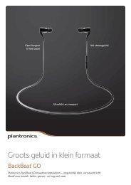 Groots geluid in klein formaat - Plantronics