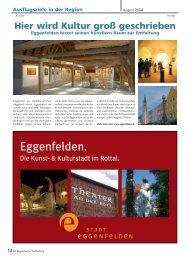 Hier wird Kultur groß geschrieben - Regensburger Stadtzeitung