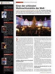 Einer der schönsten Weihnachtsmärkte der Welt - Regensburger ...