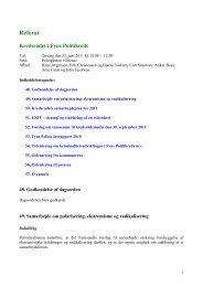 Referat den 22. juni 2011 - Politi
