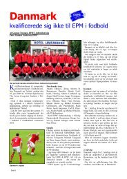 Side 8 Fodbold Danmark - Tyrkiet