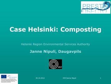Composting - PRESTO