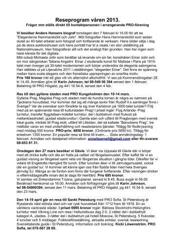 Resor våren 2013.pdf - PRO