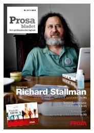 Richard Stallman - Prosa