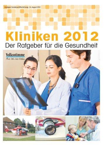 Klinik 2012 - Volksstimme