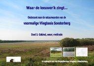 Ecologisch onderzoek vm vliegbasis Soesterberg ... - Provincie Utrecht