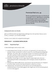 Provinciaal blad 49 van 2912 (PDF, 186 kB) - Provincie Utrecht