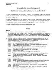 Ontwerp-aanwijzingsbesluit voor het Drentsche Aa-gebied