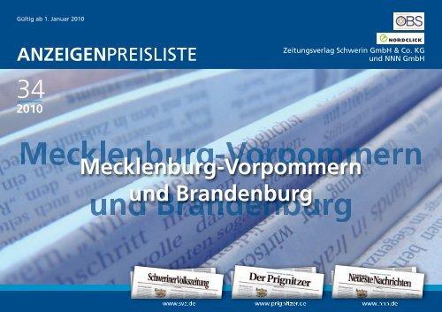 WIRTSCHAFTSRAUM SCHWERIN-OST - Schweriner Volkszeitung