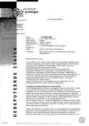 Belevingsonderzoek en procesevaluatie herinrichting Onderdendam