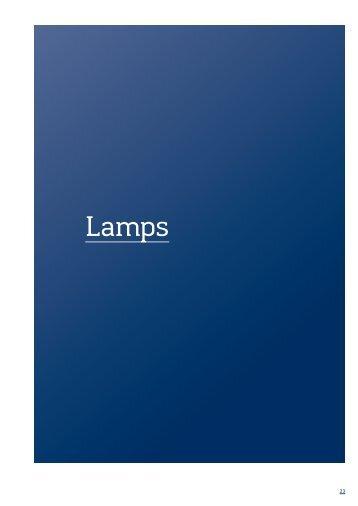 Catalogue Lamps PDF, 3 MB
