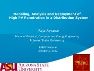 Slides - Power Systems Engineering Research Center