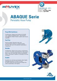 ABAQUE Series Peristaltic Hose Pump - PSG Dover