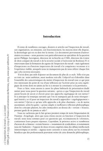 Aristocraties - Inspection du travail bourges ...